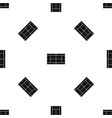 tennis court pattern seamless black vector image vector image