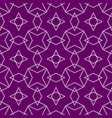 tile pattern or violet and white wallpaper vector image vector image