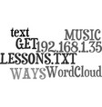 ways to get the most out of your music lessons vector image vector image