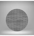 Brick Circle vector image vector image