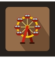 Carousel icon flat style vector image