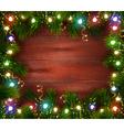festive christmas celebrating template vector image