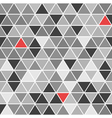 Geometrical seamless pattern with triangles vector image vector image
