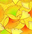 Gingko leaves pattern vector image vector image