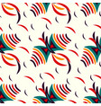 kite color abstract pattern background vector image