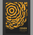 minimal distorted spheres covers design geometric vector image vector image