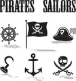 Pirate sailors vector image vector image