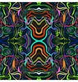 psychedelic seamless pattern vector image