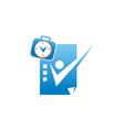 success businessman logo design template vector image vector image