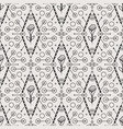tribal seamless pattern with rose vector image vector image