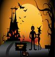 Halloween Party vector image