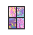 Abstract blur color layout design vector image vector image