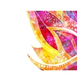 abstract floral background eps 10 vector image vector image