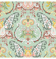 abstract floral seamless pattern with foliage vector image vector image