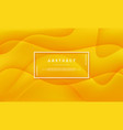 abstract orange yellow background vector image vector image