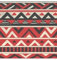 Aztec Tribal Seamless Pattern on Crumpled vector image