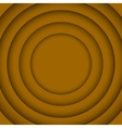 Concentric Orange 6 Circle Background vector image vector image