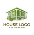 house logo design inspiration vector image vector image