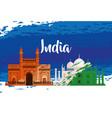 india national architecture with taj mahal