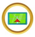 Navigator icon cartoon style vector image vector image