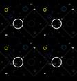 abstract dark geometric pattern vector image vector image