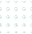 apple icon pattern seamless white background vector image vector image