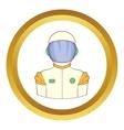 Astronaut icon vector image