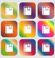 Book bookmark icon vector image