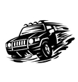Offroad vehicle vector image vector image