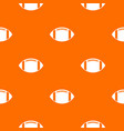 rugby ball pattern seamless vector image vector image