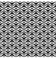 simple ornament geometric texture black and white vector image vector image