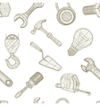 Tools drawing seamless pattern vector image