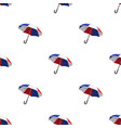 umbrella icon in cartoon style isolated on white vector image vector image