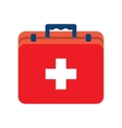 First aid kit box vector image