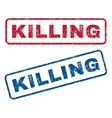 Killing Rubber Stamps vector image vector image