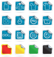 Laundry icons vector image vector image