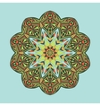 mandala floral ethnic abstract decorative vector image vector image