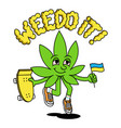 medical cannabis phrase about legalize vector image vector image