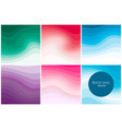 modern paper art covers with colorful vector image
