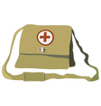 nurse bag vector image vector image