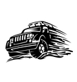 offroad vehicle vector image