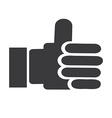 ok icon design vector image