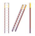 pompier ladder set vector image