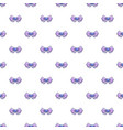 bow tie hipster pattern seamless vector image