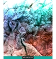 Abstract watercolor splash Watercolor drop vector image vector image