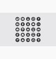 application icon logo vector image vector image