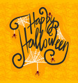 halloween concept background hand drawn style vector image