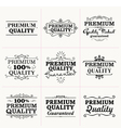 Premium Quality collection vector image vector image
