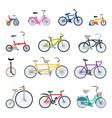 retro bike vintage style old transport ride vector image vector image