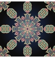 Seamless mandala background vector image vector image